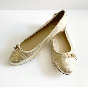 Marc Fisher Jodeta Gold Flats